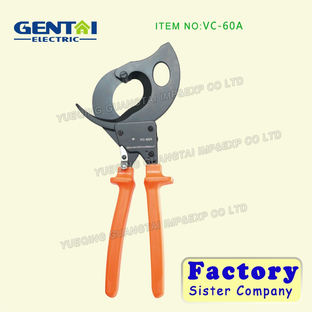 VC-60A Multi Function Heavy Duty Ratchet Cable Cutter