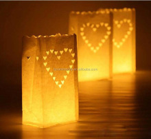 New Various Styles Paper Luminaire Candle Bags