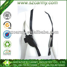Military Genuine Leather Black Equipment Holster