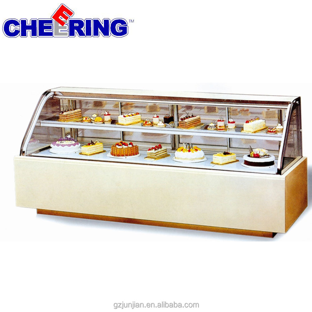 Factory direct sale cake showcase /cake display chiller