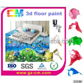 Water based epoxy resin for 3d floor paint for coating manufacturer in China
