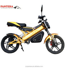Optional Color High Quality Popular 1500W Electric Folding Bicycle