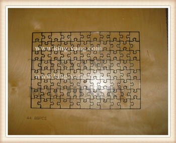 "Steel rule jigsaw puzzle die 11""x14""-63pcs Special DESIGN"