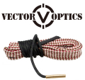 Vector Optics 0.270 / 7mm Cal Rifle Barrel Bore Snake Rope Cleaner Gun Cleaning Kit w/ Bronze Brush Gun Oil Can be Washed