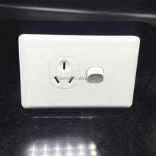 SAA certificated clipsal switch socket for Australia New Zealand market