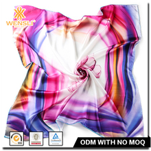 Hangzhou 100 Pure Silk Scarves Chinese Silk Neck Scarf