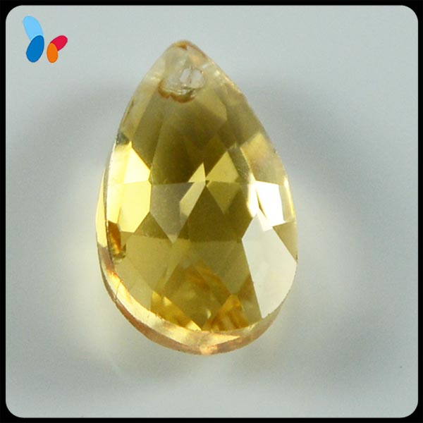 decorative gold crystal stone pendant for garment