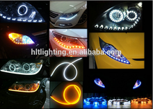 China factory automobie signal light waterproof drl car led turning light