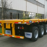 CIMC Standard 40ft Flatbed Trailer With
