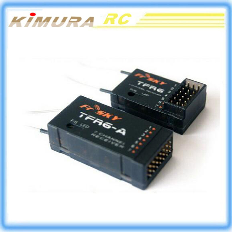 TFR6-A FrSky compatible FASST Futaba system R2008SB R617FS 7 way high pressure receiver