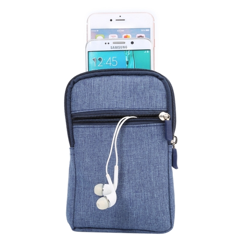 New Arrival Jeans Leisure Style Universal Waist Bag, Cloth Case for 4.6-6 Inch Mobile Phone