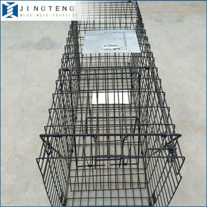 Anping manufactory supply 790*280*330mm galvanized Collapsible Animal Trap cage