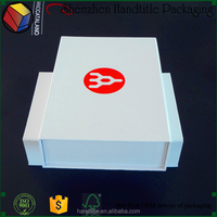 Wholesale Custom Apparel Packaging Printed Cardboard