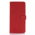 2017 New Leather Phone Case For iPhone7 Plus, Retro Matte Leather Back Cover