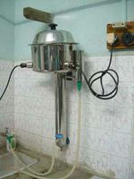 High efficiency transformer oil distillation unit