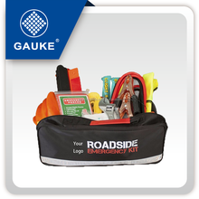 Road Hazard Safety First Aid Bag With Safety Vest Car Kit