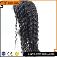 Free shipping 5A virgin how shine barrister practice signature brazilian hair full lace human hair front lace wig