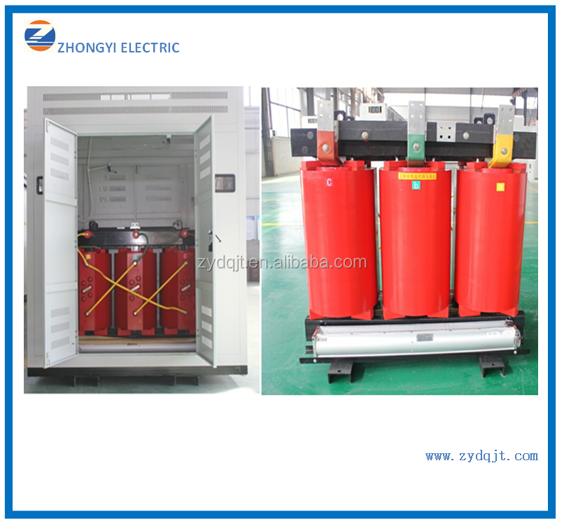 Hot sale 20KV Resin Cast Dry-type power transformer with OEM service