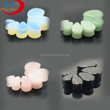 Decorative ear plugs different gauges for ears