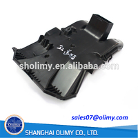 OEM customized plastic car cover board by injection moulding