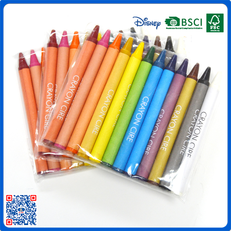 south korean personalized wax crayons drawing grease crayons