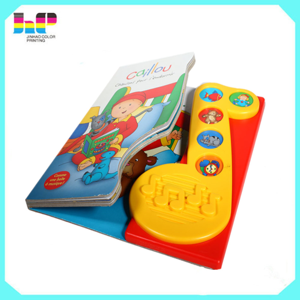 cheap custom sound book music box kids sound books,children push button sound books