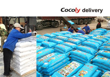cocoly replace NPK water soluble fertilizer for vietnam rice