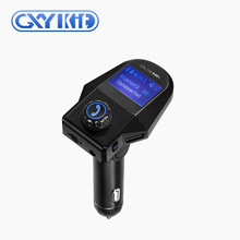 GXYKIT M8S handsfree kit car fm modulator radio mp3 adapter with usb charger