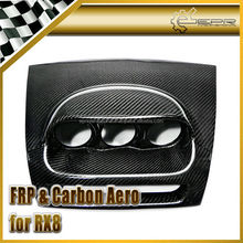 For Mazda RX8 Carbon Fiber Dash Mount Triple Gauge Pod RHD