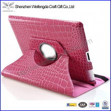 Fashion Multiple Colors 360 Degree Rotary Leather Case For Ipad Mini