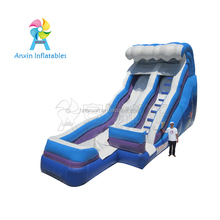 Blue wave gonflable china inflatable super water slide with free blower