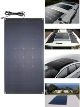 100w 120W ETFE flexible sunpower roof solar panel with low price