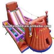 inflatable boat slide for kids