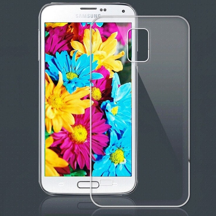 Ultra Thin Cover Protective Thin TPU Case Cover for Samsung S5 I9600