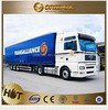 Cheap extendable semi trailer for sale with fuel tank semi-trailer , truck trailer spare parts