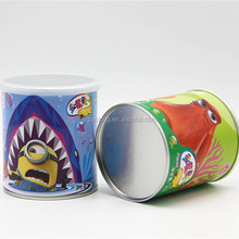 chocolate cookies packaging tube wholesale