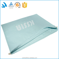 Wholesale brushed cotton shoe dust bag with custom logo