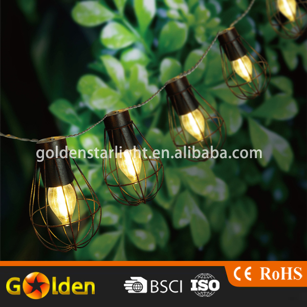 Outdoor Waterproof LED bulb Solar power String Light decorative bulb fairy light for Garden Wedding Festival Christmas