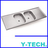 Double Bowl Stainless Steel Sink YK1550D