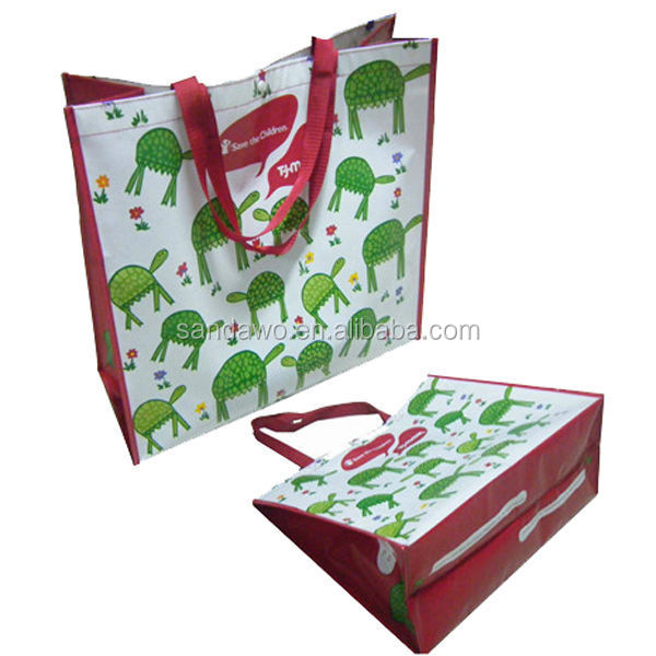 Hand made factory abaca gift bag