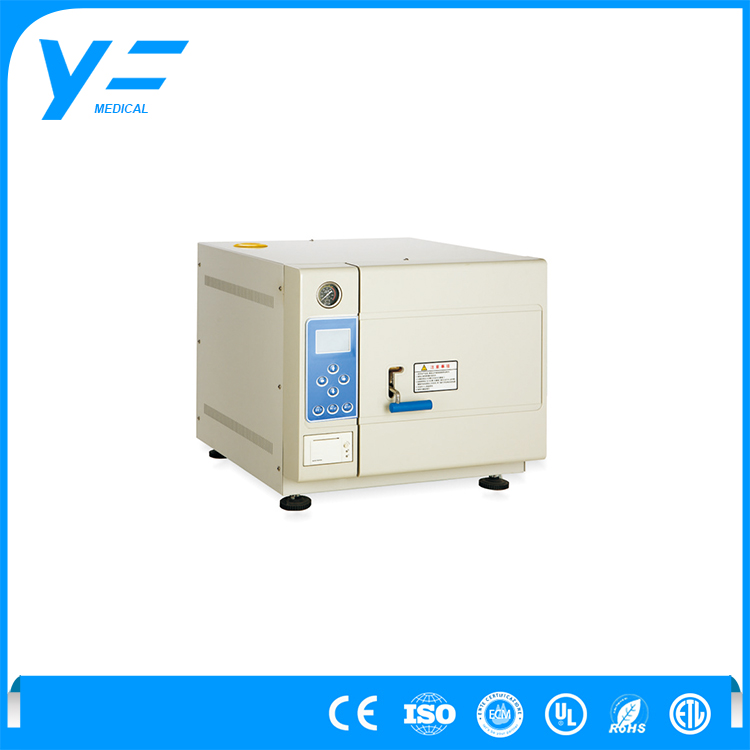 50L Portable Stainless Steel Dental Vacuum Steam Autoclave Machine