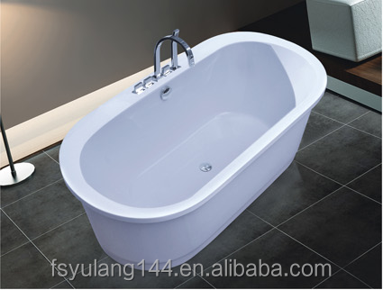 AD-6618 Freestanding cheap soaking tubs one person hot tub wholesale whirlpool bath tube