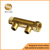 brass forge manifold and forged CW617n material and high pressure for water and gas