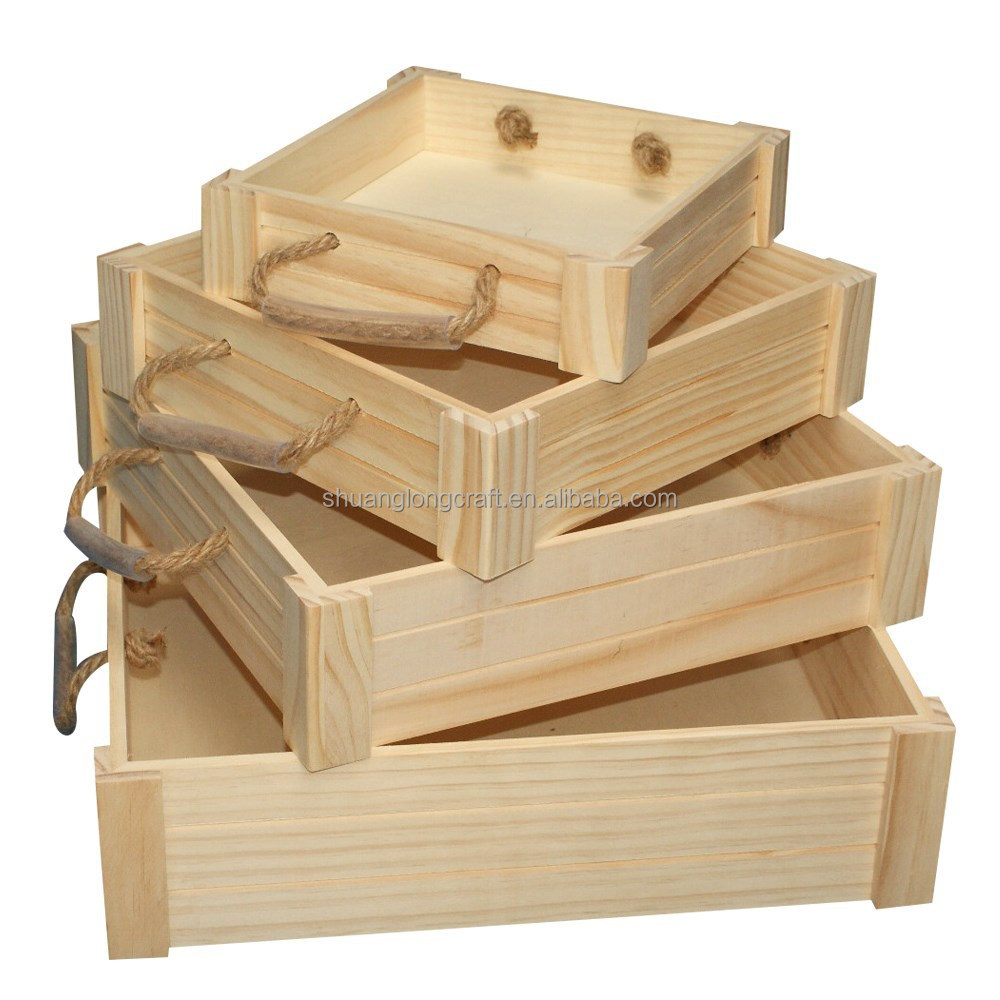 Handmade wooden crate for fruit and vegetables solid for Buy wooden fruit crates