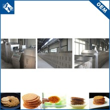 China factory seller highly automatic delicious cookies production line