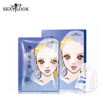 SEXYLOOK Beauty Cosmetics Facial Products Crystal Collagen Face Mask Sheet