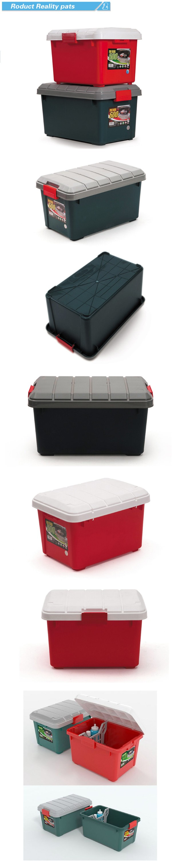 industrial warehouse plastic storage box