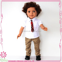 Top sell kids toy vinyl doll toy 18 inch boy baby doll for wholesale