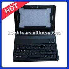 Wireless Keyboard with Leather Case for Blackberry Playbook