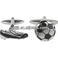 Football Shoes & Soccer Set Cufflinks